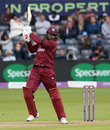 Chris Gayle quickly found his range, England v West Indies, 3rd ODI, Bristol, September 24, 2017