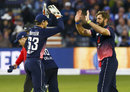 Liam Plunkett claimed his maiden ODI five-for, England v West Indies, 3rd ODI, Bristol, September 24, 2017