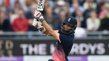 A familiar site during Moeen Ali's century