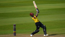 Peter Trego goes long, Somerset v Glamorgan, NatWest Blast, Taunton, August 13, 2017