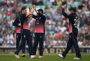 Chris Woakes made the early inroads, England v West Indies, 4th ODI, The Oval, September 27, 2017
