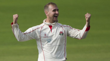 Liam Livingstone claimed a maiden five-wicket haul