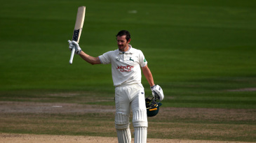 Chris Read struck a hundred in his farewell match