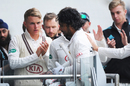 Sadness for Kumar Sangakkara as he returns to the Surrey dressing room after his final first-class innings, Lancashire v Surrey, Specsavers Championship, Division One, Old Trafford, 3rd day, September 27, 2017