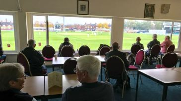 Spectators soak up the promotion latest in The Meet