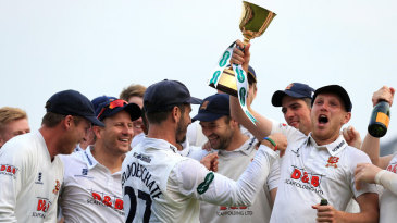 Jamie Porter is in the thick of it as Essex celebrate their title