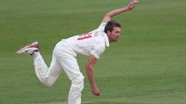 Michael Hogan claimed a four-wicket haul