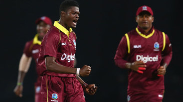 Alzarri Joseph claimed a five-wicket haul