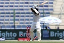 Kaushal Silva was bowled trying to shoulder his arms, Pakistan v Sri Lanka, 1st Test, 1st day, Abu Dhabi, 28 September, 2017