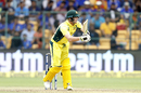Steven Smith was out playing an uppish flick, India v Australia, 4th ODI, Bengaluru, September 28, 2017