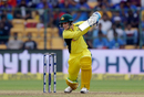 Peter Handscomb drives through the off side, India v Australia, 4th ODI, Bengaluru, September 28, 2017