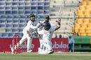 Sarfraz Ahmed attempts to take a catch, Pakistan v Sri Lanka, 1st Test, 1st day, Abu Dhabi, 28 September, 2017