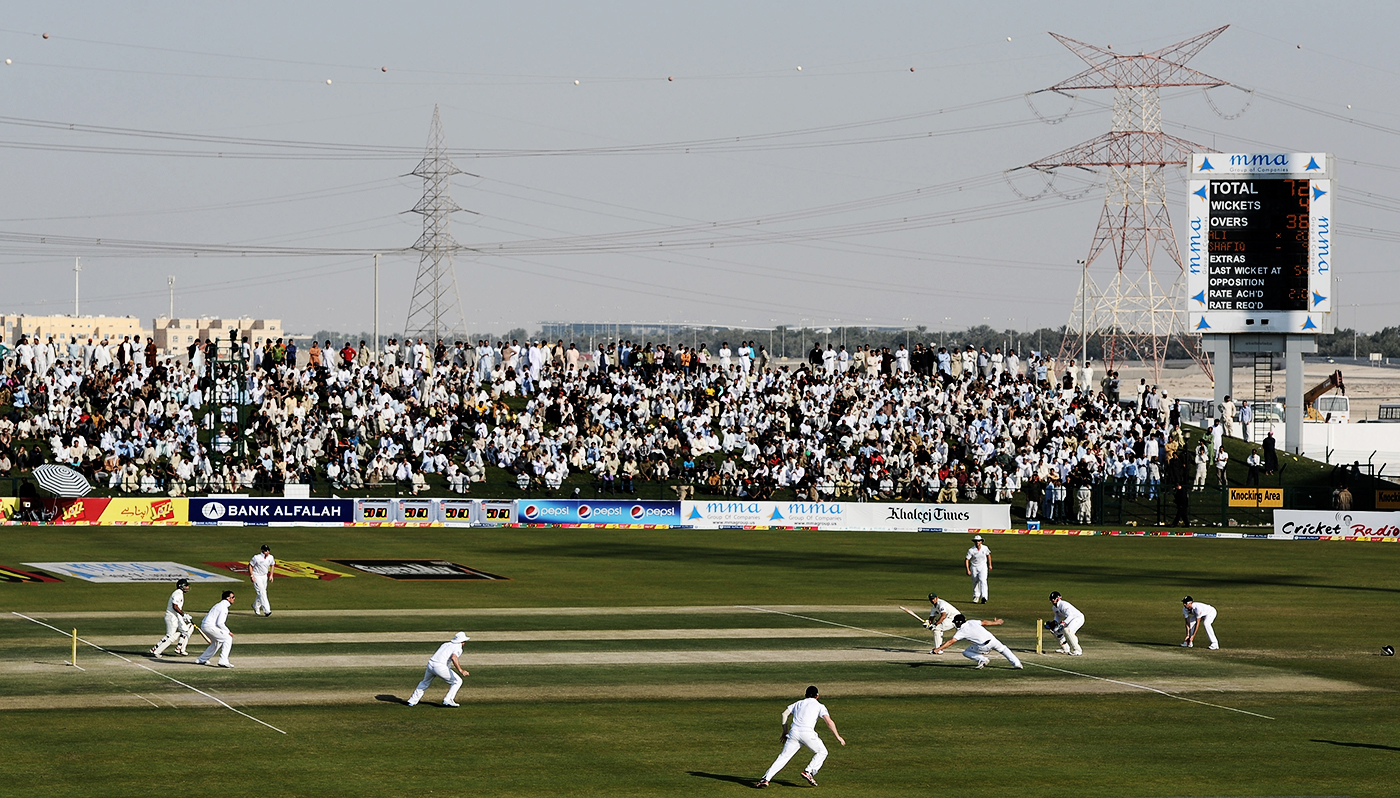 In Abu Dhabi in 2012, Azhar Ali and Asad Shafiq propped up the second innings with an 88-run stand - 16 more than the whole England team could manage in their second innings