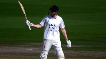 Luke Wells made a hundred on the final day