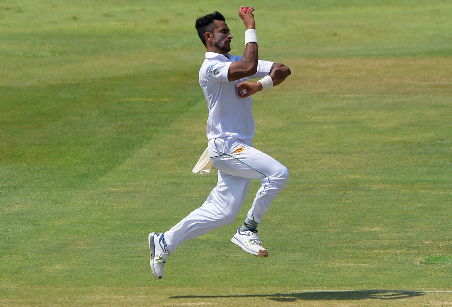 England 72/3 at Lunch - Alastair Cook 46*, Hasan Ali 2/18