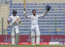 Dinesh Chandimal scored his first century as Test captain, Pakistan v Sri Lanka, 1st Test, 2nd day, Abu Dhabi, 29 September, 2017