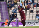 Marlon Samuels made 32 off 60, England v West Indies, 5th ODI, Ageas Bowl, September 29, 2017