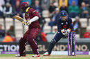 Jos Buttler completes the stumping of Marlon Samuels, England v West Indies, 5th ODI, Ageas Bowl, September 29, 2017