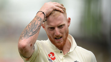 Ben Stokes in action for England