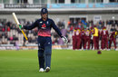 Jason Roy was lbw for 96, England v West Indies, 5th ODI, Ageas Bowl, September 29, 2017