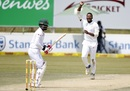 Andile Phehlukwayo took out Tamim Iqbal in the morning session, South Africa v Bangladesh, 1st Test, Potchefstroom, 3rd day, September 30, 2017