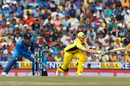 Steven Smith was lbw trying to sweep Kedar Jadhav, India v Australia, 5th ODI, Nagpur, October 1, 2017