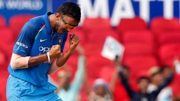 Axar Patel picked up three wickets