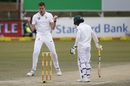 Morne Morkel is elated after pinning Mominul Haque lbw, South Africa v Bangladesh, 1st Test, Potchefstroom, 4th day, October 1, 2017