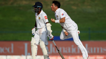 Yasir Shah pivots after delivering