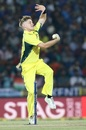 Adam Zampa took two wickets in one over, India v Australia, 5th ODI, Nagpur, October 1, 2017