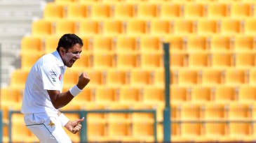 Mohammad Abbas was in a celebratory mood