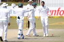 Keshav Maharaj finished with seven wickets in the match, South Africa v Bangladesh, 1st Test, Potchestroom, 5th day, October 2, 2017