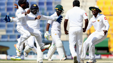 Sri Lanka go wild after Rangana Herath gets rid of Asad Shafiq