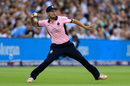 Middlesex's Ryan Higgins fields in the London derby, Middlesex v Surrey, NatWest T20 Blast, Lord's, July 13, 2017