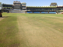 A view of the pitch at the Mangaung Oval a few days before the second Test, Bloemfontein, October 4, 2017