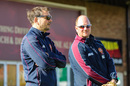David Sales (right) has won a full-time role as Northants' batting coach, October 5, 2017