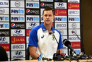 Jason Behrendorff at a press conference, Ranchi, October 5, 2017