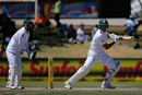 The square cut, as demonstrated by Aiden Markram, South Africa v Bangladesh, 1st Test, Bloemfontein, 1st day, October 6, 2017