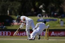Aiden Markram survives a stumping chance, South Africa v Bangladesh, 1st Test, Bloemfontein, 1st day, October 6, 2017