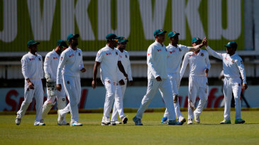 Bangladesh regroup after taking a wicket