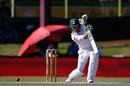 Faf du Plessis drives through the off side, South Africa v Bangladesh, 1st Test, Bloemfontein, 1st day, October 6, 2017