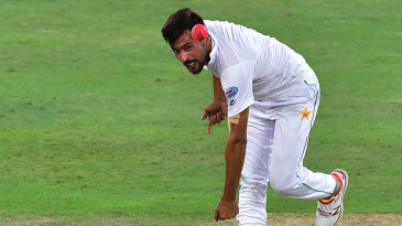 Mohammad Amir delivers the ball