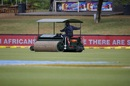 Rain delayed the start of play on the second day, South Africa v Bangladesh, 1st Test, Bloemfontein, 2nd day, October 7, 2017