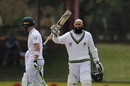 Hashim Amla brought up his 28th Test hundred, South Africa v Bangladesh, 1st Test, Bloemfontein, 2nd day, October 7, 2017