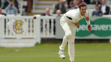Steven Finn has a chance to resume his Test career