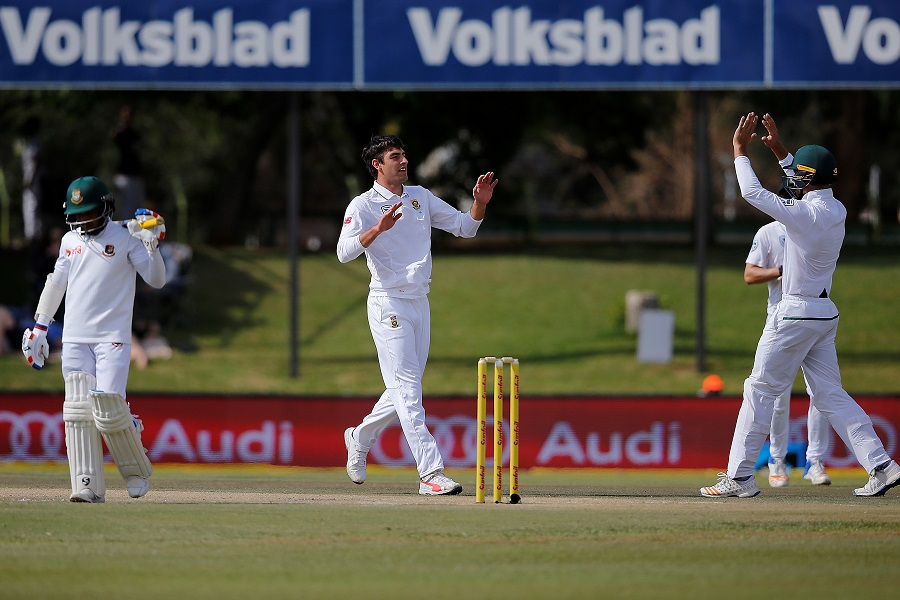 South Africa vs Bangladesh 2nd Test Day 2