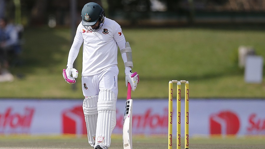 A low score added to Mushfiqur Rahim's woes