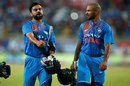 Virat Kohli and Shikhar Dhawan set up India's win, India v Australia, 1st T20I, Ranchi, October 7, 2017