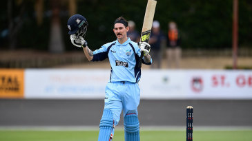 Nic Maddinson scored 123 off 113 balls