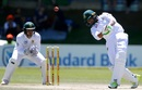 Mahmudullah lofts one inside-out, South Africa v Bangladesh, 1st Test, Bloemfontein, 3rd day, October 8, 2017